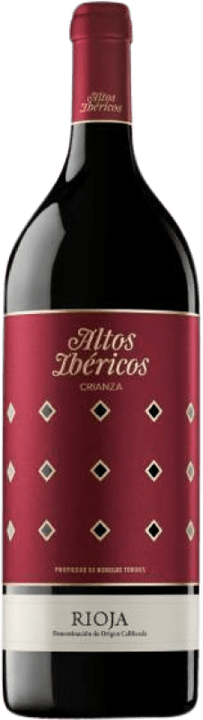 18,95 € | Red wine Torres Altos Ibéricos Crianza D.O.Ca. Rioja The Rioja Spain Tempranillo Magnum Bottle 1,5 L