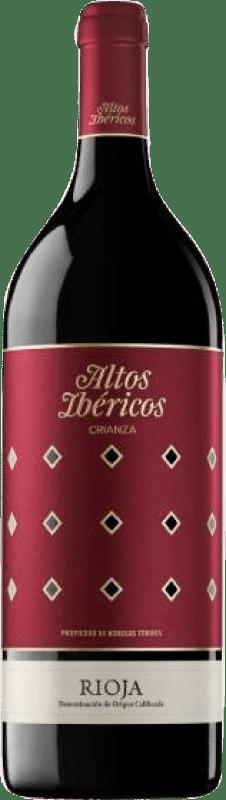 18,95 € 免费送货 | 红酒 Torres Altos Ibéricos Crianza D.O.Ca. Rioja 拉里奥哈 西班牙 Tempranillo 瓶子 Magnum 1,5 L