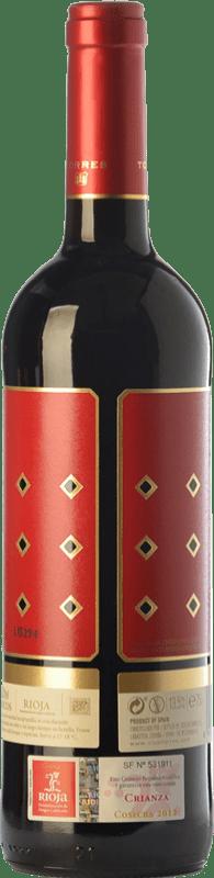10,95 € Free Shipping | Red wine Torres Altos Ibéricos Crianza D.O.Ca. Rioja The Rioja Spain Tempranillo Magnum Bottle 1,5 L
