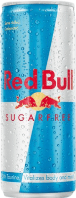 1,95 € Free Shipping   Refreshment Red Bull Energy Drink Bebida energética Sugarfree Austria Lata 25 cl