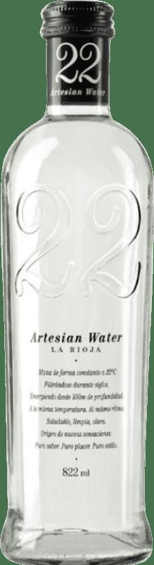 3,95 € Free Shipping | Water 22 Artesian Water Spain Bottle 80 cl