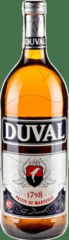 15,95 € Free Shipping | Pastis Martini Duval France Magnum Bottle 1,5 L