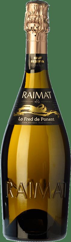 11,95 € Free Shipping | White sparkling Raimat Lo Fred de Ponent Brut Reserva D.O. Cava Catalonia Spain Pinot Black, Chardonnay Bottle 75 cl