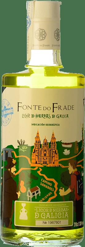 9,95 € Free Shipping | Herbal liqueur Pazo Valdomiño Fonte do Frade Spain Bottle 70 cl