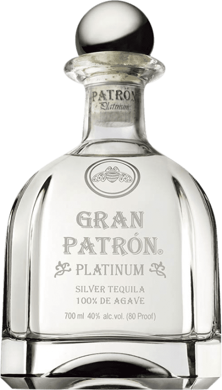 211,95 € Free Shipping | Tequila Patrón Gran Patrón Platinum Blanco Mexico Bottle 70 cl
