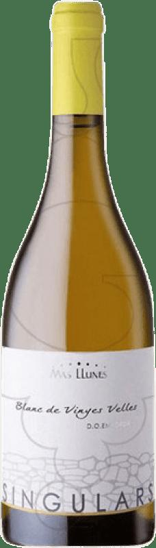 15,95 € Free Shipping | White wine Mas Llunes Singulars Joven D.O. Empordà Catalonia Spain Carignan White Bottle 75 cl