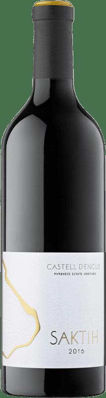 179,95 € Free Shipping   Red wine Castell d'Encús Saktih D.O. Costers del Segre Catalonia Spain Cabernet Sauvignon, Petit Verdot Bottle 75 cl