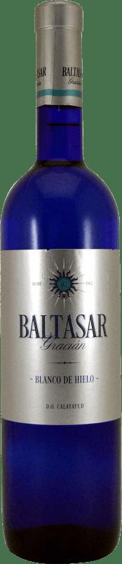 8,95 € Free Shipping   White wine San Alejandro Baltasar Gracian Blanco de Hielo Joven D.O. Calatayud Aragon Spain Macabeo Bottle 75 cl