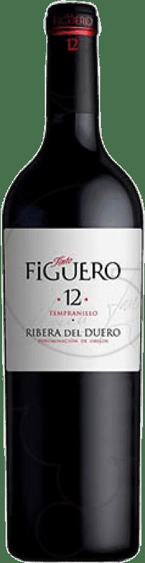 543,95 € Free Shipping   Red wine Figuero 12 Meses Crianza D.O. Ribera del Duero Castilla y León Spain Tempranillo Botella Nabucodonosor 15 L