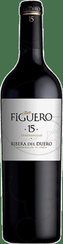 837,95 € Free Shipping   Red wine Figuero 15 Meses Reserva D.O. Ribera del Duero Castilla y León Spain Tempranillo Botella Nabucodonosor 15 L
