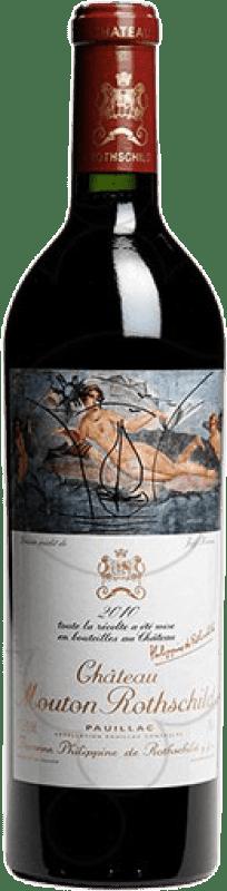 1,95 € Free Shipping | Red wine Château Mouton-Rothschild A.O.C. Pauillac Bordeaux France Merlot, Cabernet Sauvignon, Cabernet Franc, Petit Verdot Bottle 75 cl