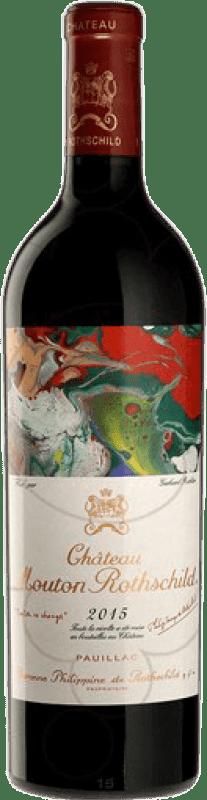 737,95 € Free Shipping | Red wine Château Mouton-Rothschild A.O.C. Pauillac Bordeaux France Merlot, Cabernet Sauvignon, Cabernet Franc, Petit Verdot Bottle 75 cl