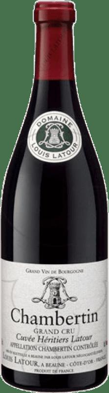 268,95 € Free Shipping | Red wine Louis Latour Grand Cru A.O.C. Chambertin Burgundy France Pinot Black Bottle 75 cl