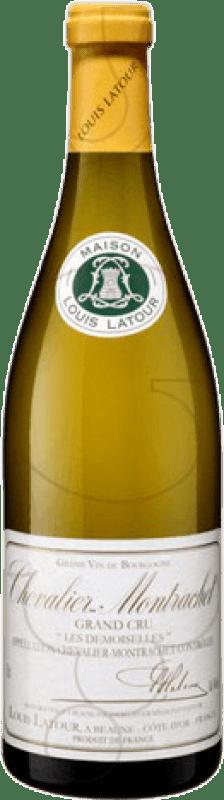 392,95 € Free Shipping | White wine Louis Latour Grand Cru Crianza A.O.C. Chevalier-Montrachet Burgundy France Chardonnay Bottle 75 cl