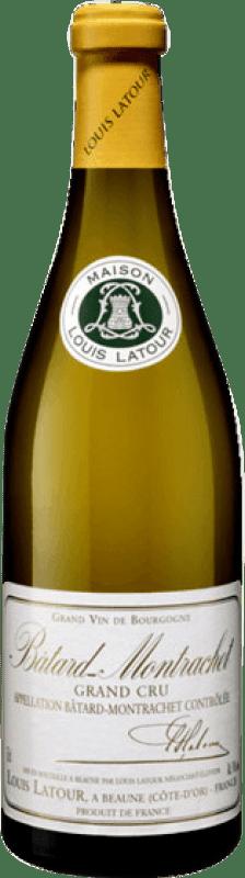 301,95 € Free Shipping | White wine Louis Latour Grand Cru Crianza A.O.C. Bâtard-Montrachet Burgundy France Chardonnay Bottle 75 cl