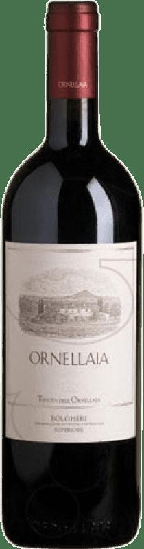 492,95 € Free Shipping   Red wine Ornellaia D.O.C. Bolgheri Tuscany Italy Merlot, Cabernet Sauvignon, Cabernet Franc, Petit Verdot Magnum Bottle 1,5 L