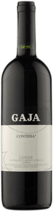 229,95 € Free Shipping | Red wine Gaja Contesia D.O.C. Langhe Piemonte Italy Nebbiolo, Barbera Bottle 75 cl