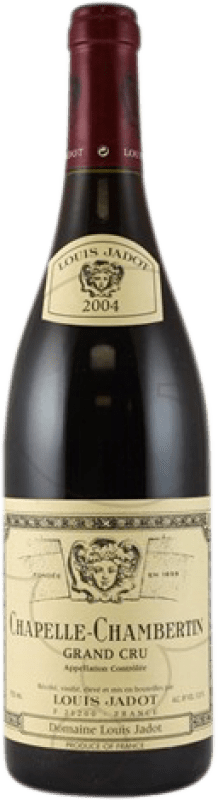 246,95 € Free Shipping | Red wine Louis Jadot Chapelle 2004 A.O.C. Chambertin Burgundy France Pinot Black Bottle 75 cl