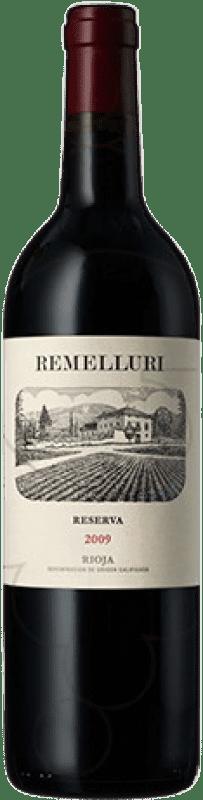 716,95 € Free Shipping   Red wine Ntra. Sra de Remelluri Reserva 2009 D.O.Ca. Rioja The Rioja Spain Tempranillo, Grenache, Graciano Botella Melchor 18 L