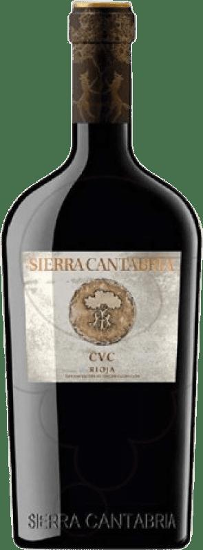 698,95 € Free Shipping | Red wine Sierra Cantabria C.V.C. D.O.Ca. Rioja The Rioja Spain Tempranillo Bottle 75 cl