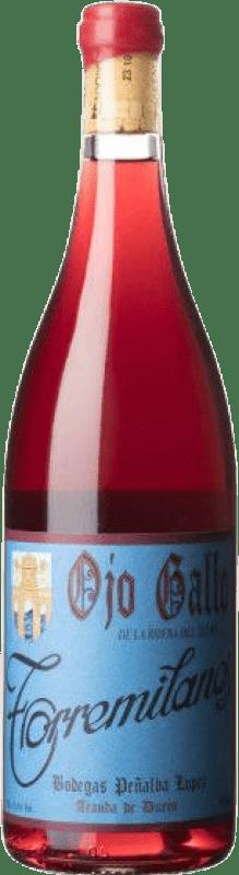 17,95 € Free Shipping | Rosé wine Finca Torremilanos Ojo Gallo Joven D.O. Ribera del Duero Castilla y León Spain Tempranillo, Grenache, Monastrell, Malvasía, Bobal, Albillo, Macabeo Bottle 75 cl
