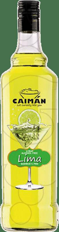 5,95 € Free Shipping | Schnapp Antonio Nadal Caimán jarabe Lima sin alcohol Spain Missile Bottle 1 L