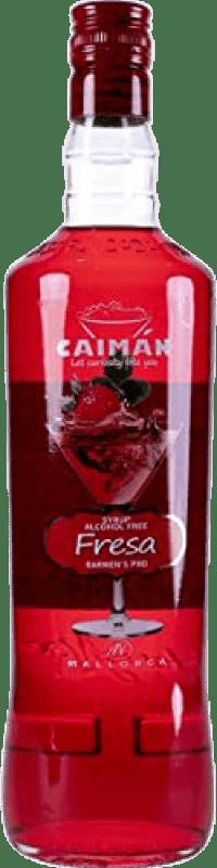 7,95 € Free Shipping | Schnapp Antonio Nadal Caimán jarabe Fresa sin alcohol Spain Missile Bottle 1 L