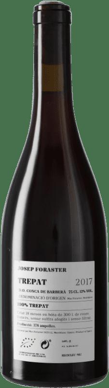 13,95 € Free Shipping | Red wine Josep Foraster 18 Mesos Crianza D.O. Conca de Barberà Catalonia Spain Trepat Bottle 75 cl