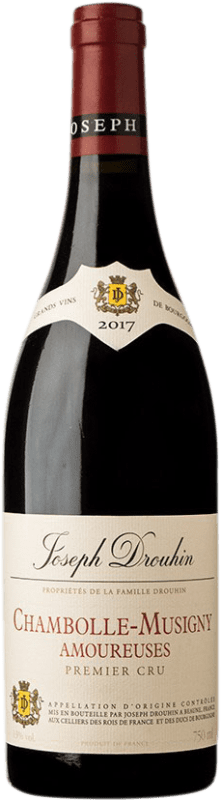556,95 € 免费送货 | 红酒 Drouhin 1er Cru Amoureuses A.O.C. Chambolle-Musigny 勃艮第 法国 Pinot Black 瓶子 75 cl