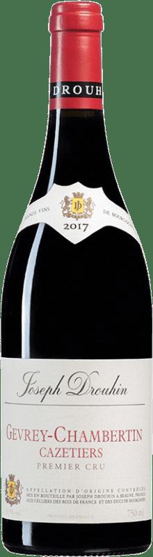 154,95 € Envío gratis   Vino tinto Drouhin 1er Cru Cazetiers A.O.C. Gevrey-Chambertin Borgoña Francia Pinot Negro Botella 75 cl