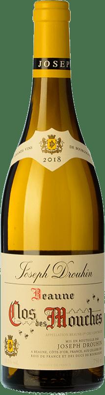 136,95 € | White wine Drouhin 1er Cru Clos des Mouches Blanc A.O.C. Beaune Burgundy France Chardonnay Bottle 75 cl