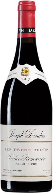 314,95 € Free Shipping | Red wine Drouhin 1er Cru Les Petits Monts A.O.C. Vosne-Romanée Burgundy France Bottle 75 cl