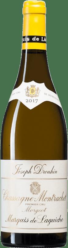 118,95 € | White wine Drouhin 1er Cru Morgeot Marquis de Laguiche A.O.C. Chassagne-Montrachet Burgundy France Chardonnay Bottle 75 cl