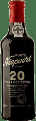 36,95 € Envío gratis | Vino tinto Niepoort 20 Years Old I.G. Porto Porto Portugal Touriga Franca, Touriga Nacional, Tinta Roriz Media Botella 37 cl