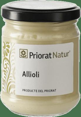 6,95 € Envío gratis | Salsas y Cremas Priorat Natur Allioli España