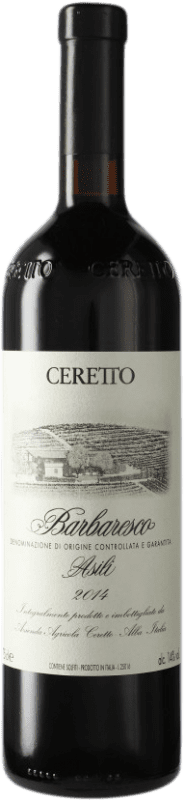 241,95 € Free Shipping | Red wine Ceretto Asili D.O.C.G. Barbaresco Piemonte Italy Nebbiolo Bottle 75 cl