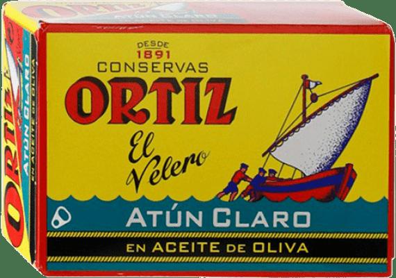 2,95 € 免费送货 | Conservas de Pescado Ortíz Atún en Aceite de Oliva 西班牙