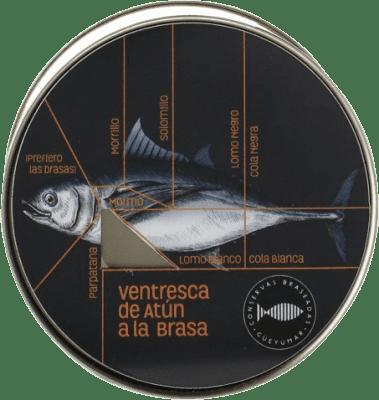 29,95 € 免费送货 | Conservas de Pescado Güeyu Mar Atún Rojo Salvaje 阿斯图里亚斯公国 西班牙