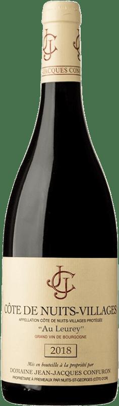44,95 € Free Shipping | Red wine Confuron Au Leurey A.O.C. Côte de Nuits-Villages Burgundy France Pinot Black Bottle 75 cl