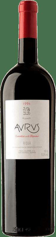 1 595,95 € Envío gratis | Vino tinto Allende Aurus 1996 D.O.Ca. Rioja España Tempranillo, Graciano Botella Salmanazar 9 L