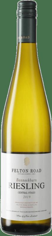 34,95 € Free Shipping | White wine Felton Road Bannockburn I.G. Central Otago Central Otago New Zealand Riesling Bottle 75 cl