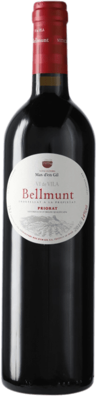 14,95 € Free Shipping | Red wine Mas d'en Gil Bellmunt del Priorat D.O.Ca. Priorat Catalonia Spain Bottle 75 cl