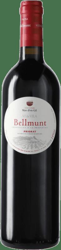 14,95 € Envío gratis | Vino tinto Mas d'en Gil Bellmunt del Priorat D.O.Ca. Priorat Cataluña España Botella 75 cl