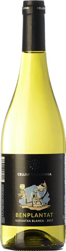 5,95 € Free Shipping | White wine Bellaserra Benplantat Blanc Spain Bottle 75 cl