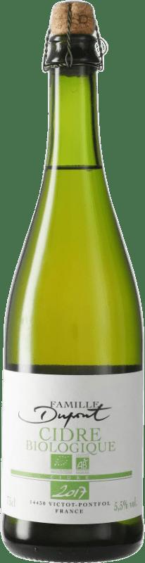 12,95 € Envío gratis | Sidra Domaine Dupont Biologique Francia Botella 75 cl
