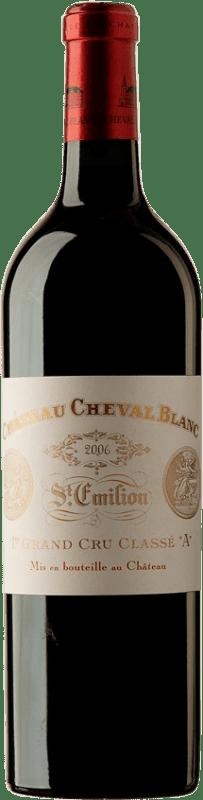 936,95 € | Red wine Château Cheval Blanc 2006 A.O.C. Saint-Émilion Bordeaux France Merlot, Cabernet Franc Bottle 75 cl