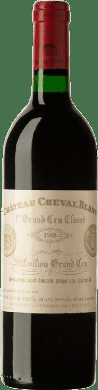 567,95 € | Red wine Château Cheval Blanc 1988 A.O.C. Saint-Émilion Bordeaux France Merlot, Cabernet Franc Bottle 75 cl