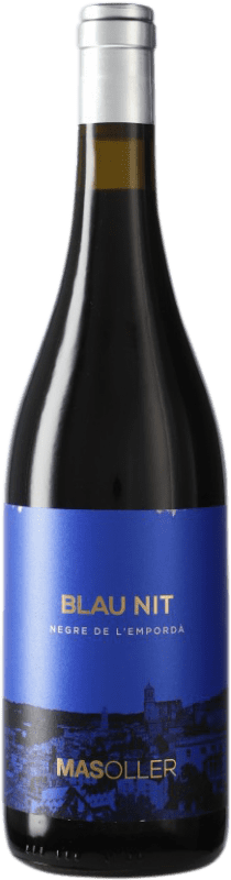 8,95 € Free Shipping | Red wine Mas Oller Blaunit D.O. Empordà Catalonia Spain Bottle 75 cl