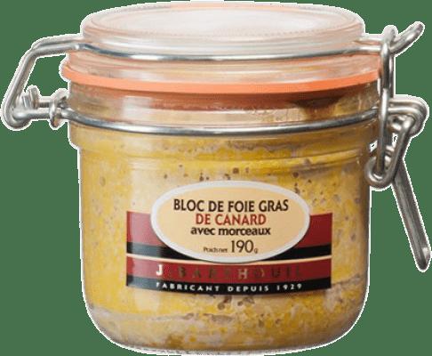 27,95 € Free Shipping | Foie y Patés J. Barthouil Bloc de Foie de Canard avec Morceaux France