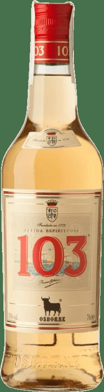 11,95 € Envoi gratuit | Brandy Osborne Bobadilla 103 D.O. Jerez-Xérès-Sherry Espagne Bouteille 70 cl